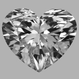 10.53 Carat Heart Diamond (D/IF)