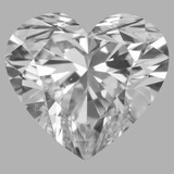 1.28 Carat Heart Diamond (D/SI1)