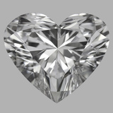 2.03 Carat Heart Diamond (D/IF)