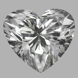 0.78 Carat Heart Diamond (H/VS2)