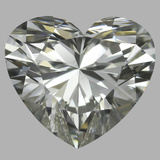 0.90 Carat Heart Diamond (J/VS1)