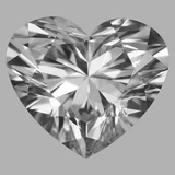 1.02 Carat Heart Diamond (E/SI1)
