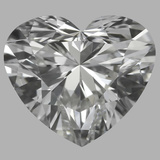 0.86 Carat Heart Diamond (G/IF)