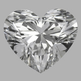 1.06 Carat Heart Diamond (D/IF)
