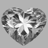 1.60 Carat Heart Diamond (F/VVS1)