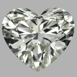 2.04 Carat Heart Diamond (J/IF)