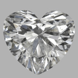 1.01 Carat Heart Diamond (F/SI1)