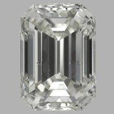 2.08 Carat Emerald Diamond (J/SI2)