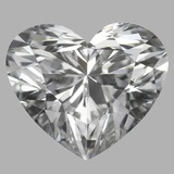 1.21 Carat Heart Diamond (D/VS1)