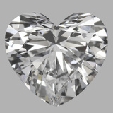 1.26 Carat Heart Diamond (D/VS1)