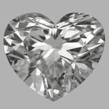 2.05 Carat Heart Diamond (E/SI2)