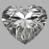 1.01 Carat Heart Diamond (H/VS2)
