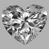 4.04 Carat Heart Diamond (E/VS2)