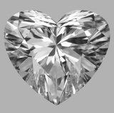 1.02 Carat Heart Diamond (F/SI1)