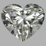 2.02 Carat Heart Diamond (J/SI1)
