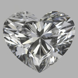 3.10 Carat Heart Diamond (D/VS1)