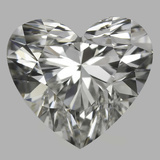 0.78 Carat Heart Diamond (I/VS1)
