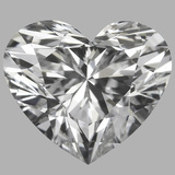 0.81 Carat Heart Diamond (D/VS1)
