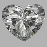 1.02 Carat Heart Diamond (I/VVS2)