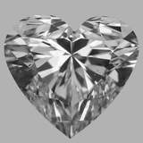 0.80 Carat Heart Diamond (F/VS2)