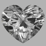 1.02 Carat Heart Diamond (F/VVS1)