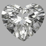0.75 Carat Heart Diamond (G/SI1)