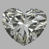 0.85 Carat Heart Diamond (J/VVS2)