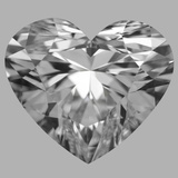 5.03 Carat Heart Diamond (E/VVS1)