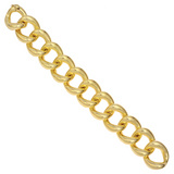 Medium 18k Yellow Gold Link Bracelet