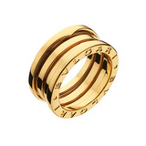 "18k Yellow Gold ""B.Zero1"" 3-Band Ring"