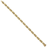 "18k Yellow Gold & Diamond ""Path"" Link Bracelet"