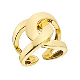 18k Yellow Gold Open Knot Ring