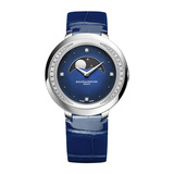 Promesse Moon Phase 34mm Steel & Diamonds (10347)