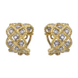 "18k Gold & Diamond ""Etoilee"" Earrings"