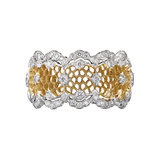"18k Gold & Diamond ""Tulle Ghirlanda"" Band Ring"