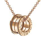 "18k Pink Gold ""B.Zero1"" Pendant Necklace"