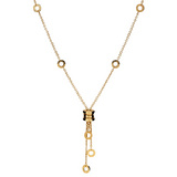 "18k Yellow Gold ""B.Zero1"" Pendant Necklace"