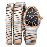 Serpenti Tubogas Steel & Pink Gold (SP35BSPGD.2T)