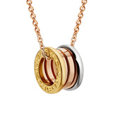 "18k Tri-Color Gold ""BZero1"" Pendant Necklace"