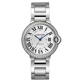 Ballon Bleu 36mm Steel & Diamonds (W4BB0017)