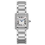 Tank Francaise Small Steel & Diamonds (W4TA0008)