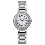 Ballon Bleu 28mm Steel & Diamonds (W4BB0015)