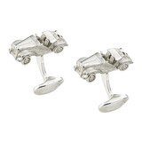 Silver MG Model Car Cufflinks