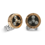 Rotating Sun & Planet Gear Cufflinks