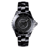 "J12 38mm ""Intense Black"" Ceramic (H3829)"