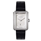 Boy.Friend Medium White Gold & Diamonds (H4470)