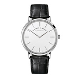 Saxonia Thin 37 White Gold (201.027)