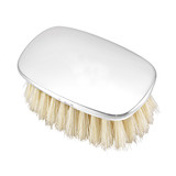 Polished Silver Baby Brush