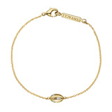 "18k Yellow Gold & Diamond ""Flutti"" Chain Bracelet"