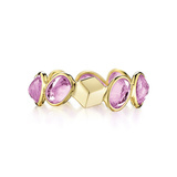 "Pink Sapphire ""Ombre"" Band Ring"